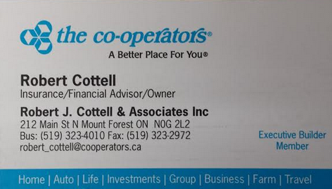 R.J. Cottell - The Co-operators
