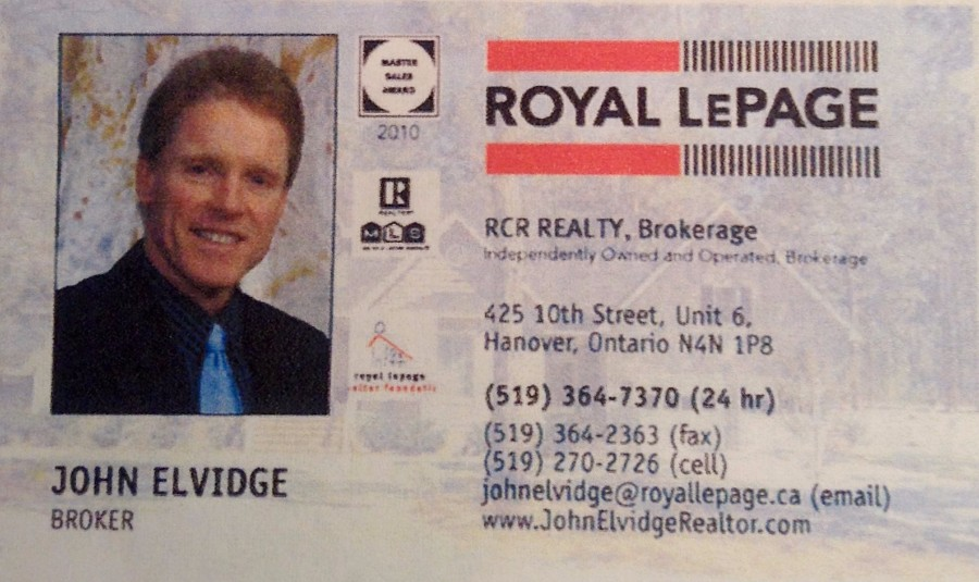 John Elvidge Realtor