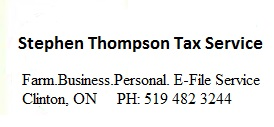 Stephen Thompson Tax Service