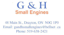 G & H Small Engines