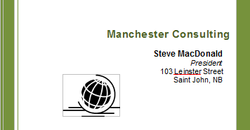 Manchester Consulting