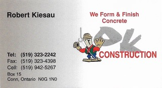 O.K. Construction Inc.