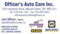 Officer's Auto Care Inc.